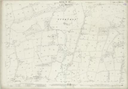 Sussex XXV.9 (includes: Cowfold; Lower Beeding; West Grinstead) - 25 Inch Map