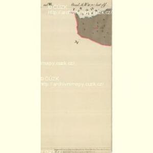 Unt. Radisch - m0520-1-010 - Kaiserpflichtexemplar der Landkarten des stabilen Katasters