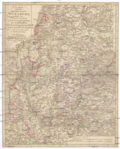 Charte von dem Grosgerzogthum Würzburg, nebst dem Fürstenthum Schwarzenberg, den Grafschafften Castell und Limpurg-Speckfeld, der Herrschafft Wiesentheid &c