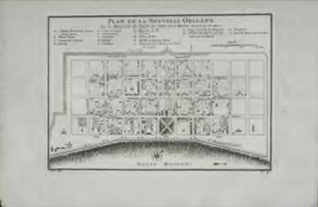 Plan de la Nouvelle Orleans