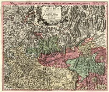 Cursus Rheni a Basilea usque ad Archi-Episcopatum Coloniensem :
