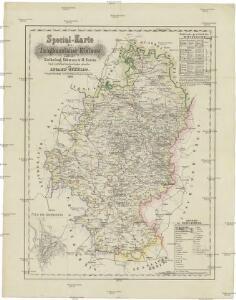Special-Karte des Jungbunzlauer Kreises
