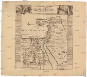 L'ancienne Thebaide ou les deserts d'Egypte habitez par les S.s Peres des deserts