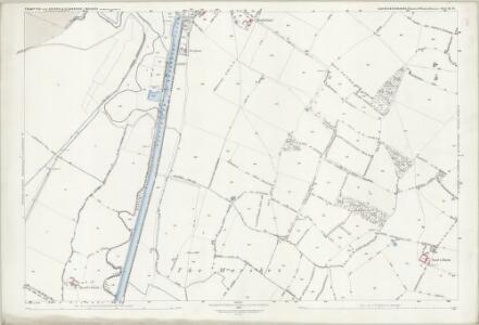 Gloucestershire XL.15 (includes: Frampton on Severn; Slimbridge) - 25 Inch Map
