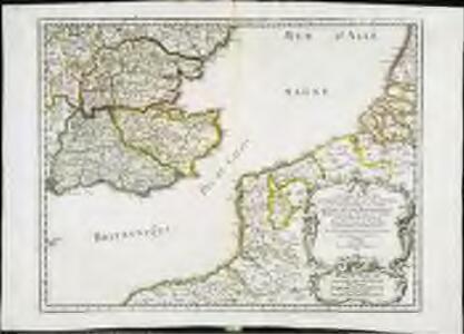 Anciens royaumes de Kent, d'Essex, et de Sussex