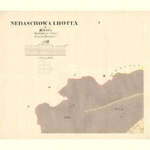 Nedaschowa Lhotta - m1941-1-001 - Kaiserpflichtexemplar der Landkarten des stabilen Katasters