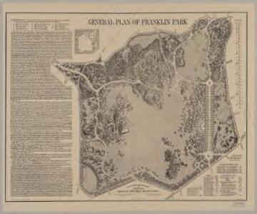 General plan of Franklin Park