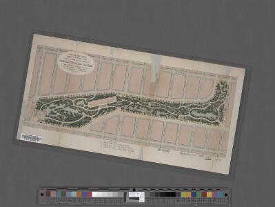 Preliminary Study for the Design of Morningside Park [1873].