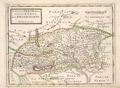 The North P. of Perth Shire containing Athol and Broadalbin  / by H. Moll.