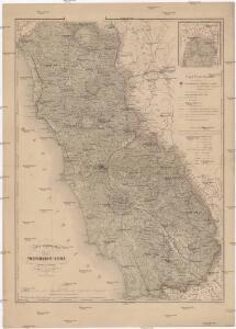 Carta corografica della provincia di Roma