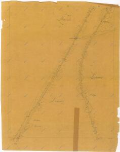 Plán železniční tratě v úseku Gmünd - Veselí nad Lužnicí, list 11 1