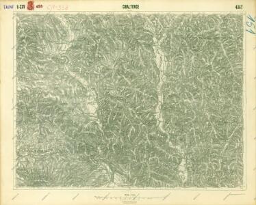 III. vojenské mapování 4367
