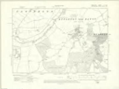 Berkshire V.SE - OS Six-Inch Map