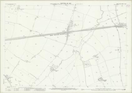 Berkshire XIV.5 (includes: Denchworth; East Challow; Grove; West Hanney) - 25 Inch Map