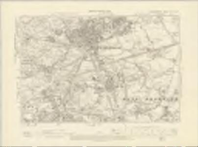 Staffordshire LXVIII.NW - OS Six-Inch Map