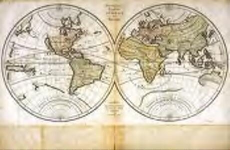Nouvelle carte generale du monde