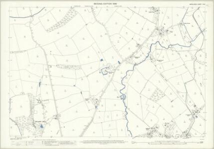 Middlesex IX.12 (includes: Ruislip; Uxbridge) - 25 Inch Map