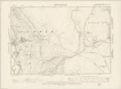 Derbyshire XVII.SW - OS Six-Inch Map