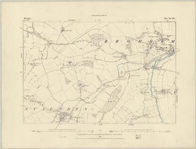 Bedfordshire X.NE - OS Six-Inch Map