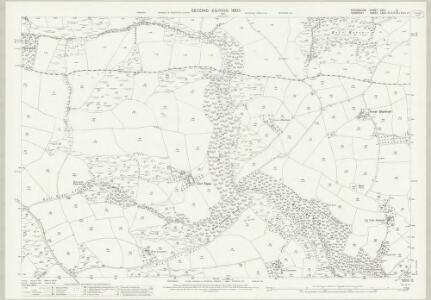 Devon XXIV.9 (includes: Bampton; Brushford; Oakford) - 25 Inch Map