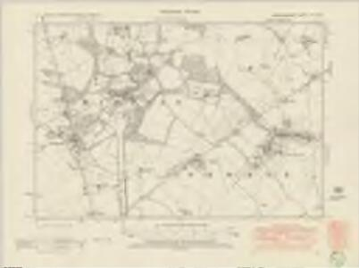 Cambridgeshire LIII.NW - OS Six-Inch Map