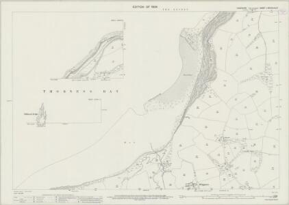 Hampshire and Isle of Wight LXXXIX.8 & 4 & 7 (includes: Calbourne; Cowes) - 25 Inch Map