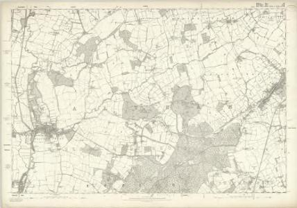 Middlesex III - OS Six-Inch Map