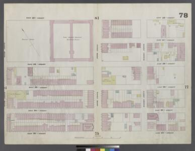 Plate 78: Map bounded by West 42nd Street, East 42nd Street, Fourth Avenue, East 37th Street, West 37th Street, Sixth Avenue