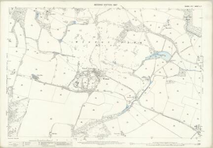 Sussex LI.7 (includes: Steyning; Wiston) - 25 Inch Map