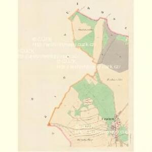 Czachrau (Czachrow) - c0783-1-001 - Kaiserpflichtexemplar der Landkarten des stabilen Katasters