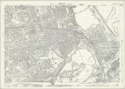 London (1915- Numbered sheets) V.4 (includes: Bethnal Green; Hackney; Poplar Borough) - 25 Inch Map