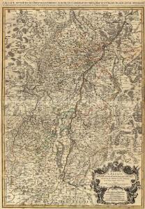 L'Alsace divisée en ses Principales Parties, Sçavoir les Landgraviats de la Haute et Basse Alsace