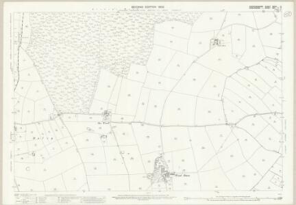 Staffordshire XXVIII.12 (includes: Adbaston; Cheswardine; Eccleshall) - 25 Inch Map