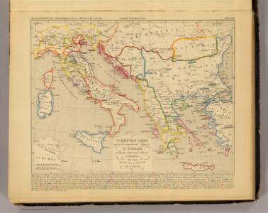 L'Empire Grec, l'Italie, 1300 a 1400.