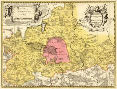 Nova et accurata Descriptio Marchionatus Lusatiae Inferioris oder Neue und accurate Beschreibung der Margrafthums Nieder Lausitz