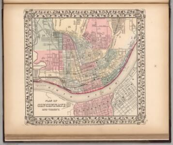 Plan of Cincinnati and Vicinity