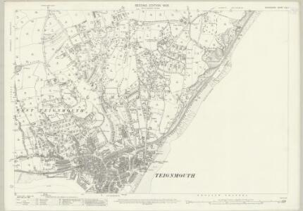Devon CX.7 (includes: East Dawlish; St Nicholas; Teignmouth) - 25 Inch Map