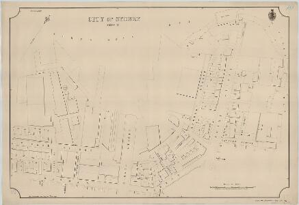 City of Sydney, Sheet X2, 1888