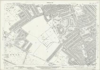 Surrey XIV.1 (includes: Croydon St John The Baptist; Mitcham) - 25 Inch Map