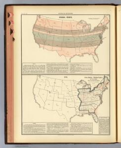 12. Original grants; 1776 settled area.
