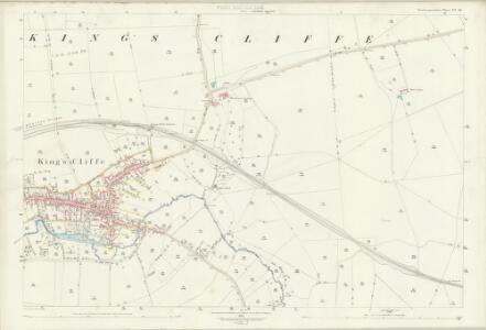 Northamptonshire VI.16 (includes: Apethorpe; Kings Cliffe) - 25 Inch Map