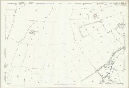 Huntingdonshire XXII.14 (includes: Godmanchester; Graveley; Offord Cluny; Offord Darcy; Papworth St Agnes) - 25 Inch Map