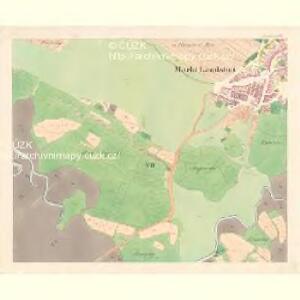 Landshut - m1469-1-006 - Kaiserpflichtexemplar der Landkarten des stabilen Katasters