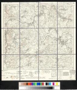 Meßtischblatt 5439 : Treuen, 1938