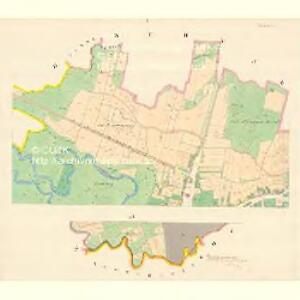 Littau (Litowel) - m1596-1-001 - Kaiserpflichtexemplar der Landkarten des stabilen Katasters