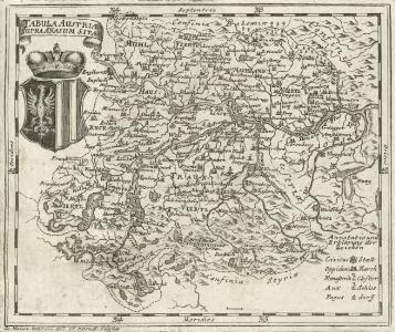 Tabula Austriae Supra Anasum Sitae