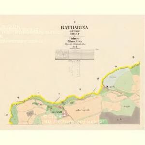 Katharina - c3069-2-001 - Kaiserpflichtexemplar der Landkarten des stabilen Katasters