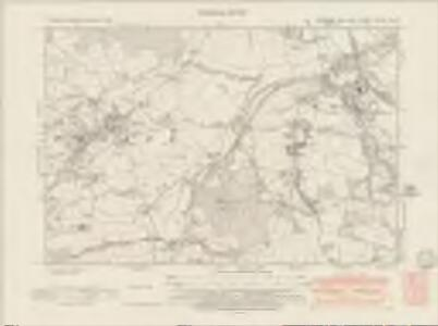 Yorkshire CCLXXIV.NW - OS Six-Inch Map