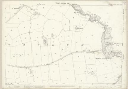 Yorkshire CXXIX.9 (includes: Flamborough) - 25 Inch Map
