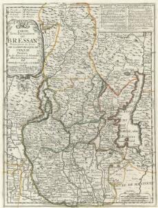 Carte Tres Particuliere du Brassan Faisant partie des Etats de la Republique de Venise